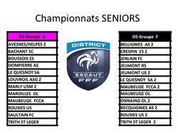 Groupe Championnats SENIORS - Sports Athletiques Quercitains