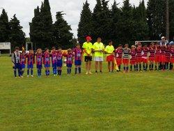 Les U10 au Tournoi de Rieumes - SAINT-LYS OLYMPIQUE FOOTBALL CLUB