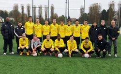 Nouvelle défaite des séniors.A , qualification pour le 1er tour fédéral en Gambardella des U19 !