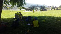 Entraînement U7 entre Ombre et City stade - Entente Football SPAM