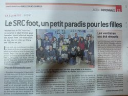 Remise du label foot féminin - SRC Foot La Clayette