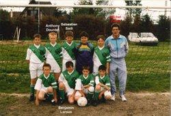 Les équipes saison 1994-1995 - Saint Sébastien Football