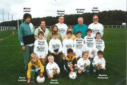 Les équipes saison 2000-2001 - Saint Sébastien Football