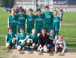 Les équipes saison 2006-2007 - Saint Sébastien Football