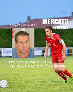 Bienvenue Mickaël. - STADE RUFFECOIS