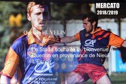 Bienvenue Quentin. - STADE RUFFECOIS