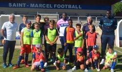 LES PHOTOS DU STAGE AOUT 2016 - SAINT MARCEL FOOTBALL