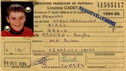 STADE VERNOLIEN - SAISON 1984/1985 - RETOUR DANS LE PASSE - STADE VERNOLIEN FOOTBALL