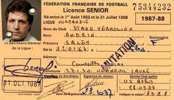 STADE VERNOLIEN - SAISON 1987/1988 - RETOUR DANS LE PASSE - STADE VERNOLIEN FOOTBALL
