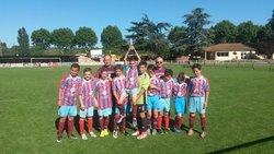 Les U13 en entente avec Luzenac remportent l'Europa league au tournoi de Limoux - TARASCON FOOTBALL CLUB