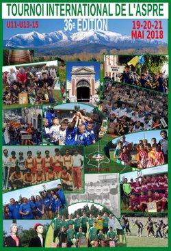 Tournoi International de l'Aspre 2018 : https://www.fcthuir.fr/