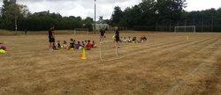 1er entrainement U6 à U9 du 10/09/2016 - Triangle Football Club