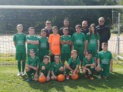 Championnat Match a Marmagne Le 16/09/17: Marmagne-Grp La voie verte 2 - U13 FC Marmagne