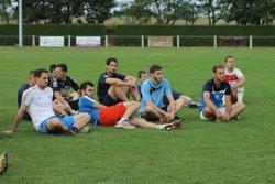 Reprise 2015 / 2016 Premier entrainement 31 Juillet 2015 - Union Club Auvers Poille
