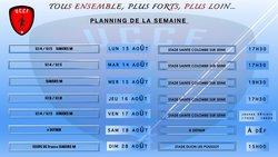 Programme Semaine 33 U.C.C.F - UNION CHATILLONNAISE COLOMBINE FOOTBALL