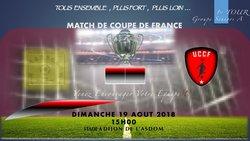 Début de la Coupe de France, Dimanche 19 Août, 1er Tour, Notre équipe Sénior se déplace à Dijon, Venez les Encouragez - UNION CHATILLONNAISE COLOMBINE FOOTBALL