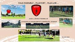 Reprise en Image des Séniors 30/07/18 - UNION CHATILLONNAISE COLOMBINE FOOTBALL