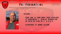 Présentation de Thierry, nouvel éducateur au sein du club de l'U.C.C.F, Bienvenue - UNION CHATILLONNAISE COLOMBINE FOOTBALL