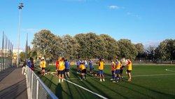 Les séances d'entraînement continuent pour nos Séniors avec des matches amicaux au programme pour cette fin de semaine... - Union Générale Arménienne Lyon-Décines