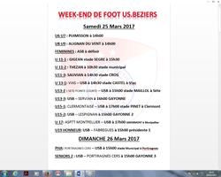 Week-end football