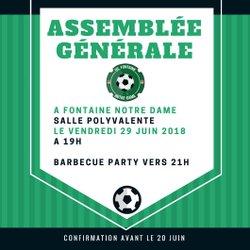 ASSEMBLEE GENERALE USF 2018