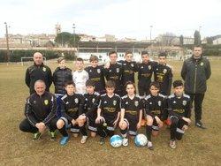 """""""Les U13 en finale !!! pour le festi foot."""