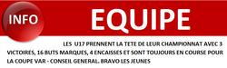 INFO EQUIPE - USL  UNION SPORTIVE LUCOISE EN ENTENTE AVEC LE FC GONFARON ..