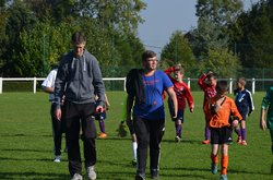 Photos du match U11 contre Entente des Falaises du 3-10-15 - Union Sportive Luneraysienne