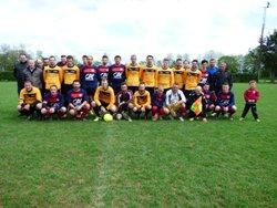 Match USALVERNE B contre ROUGE (2-4) - US ALVERNE, Grand Auverné