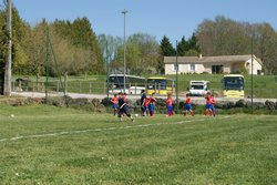 photo u13 contre Ruelle - Union Sportive et Amicale Montbronnaise