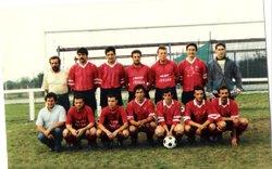 photos d' archives USTrun ,1ere division 1991 - Union Sportive Amicale de TRUN TOURNAI