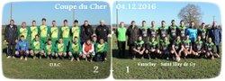 04.12.2016 ~ Coupe du Cher ~ U.S.C. - Vasselay/St-Eloy-de-Gy ~ 2-1 - Union Sportive de Châteaumeillant