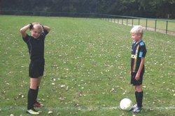 entrainements des U6 au U9 - union sportive football Armbouts Cappel