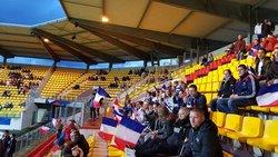 Photos du match Féminin France Espagne Stade de l'Épopée à Calais - US GRAVELINES FOOTBALL