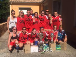 tournoi  feminin BEDARIEUX - UNION SPORTIVE LE POINCONNET FOOTBALL