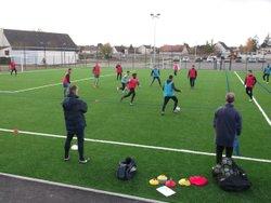 Formation CFF2 U13 au poinconnet le 18 / 11 /2017 - UNION SPORTIVE LE POINCONNET FOOTBALL
