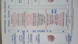 Convocation senior coupe jean vidal - Union Sportive Lusignoise