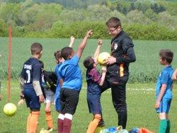 Entrainement U7 et U9 (25/04/2018) - UNION SPORTIVE POILLY-AUTRY FOOTBALL