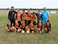 U13 (D2) vs Sully/Loire  22/09/18 - UNION SPORTIVE POILLY-AUTRY FOOTBALL