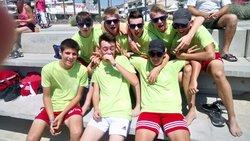 Les u 15 filles garçons au beach  soccer avec la victoire du tournoi pour garçons - UNION SPORTIVE PONTOISE