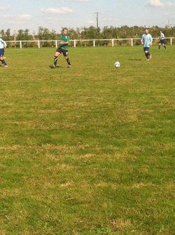Match de coupe de Basse Normandie contre Valframbert - USR Football Club