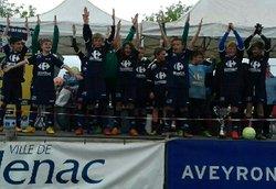 U 13 Victorieux - Association Sportive Savignac Bannac