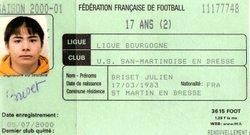 anciennes licences  ......( a compléter) - union sportive san martinoise