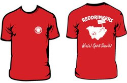 Tee-shirt Red Drinkers homme