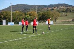 U18 vs Lempdes (2-0) 14 10 2017 - Union Sportive Val de Couzes Chambon