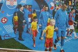 Un petit U9 de VEYZIAT a participé à l'EURO 2016 - US Veyziat