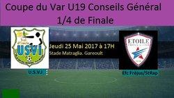 Coupe du var U19 - Union Sportive du Val d'Issole