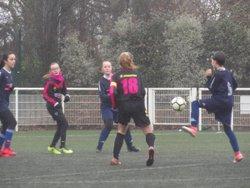 Match des U13F VGA Bohars contre Lesneven (10/02/2018) à Bohars. - VGABohars Féminines