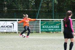 Matchs des U17F VGA Bohars contre Le Stade Brestois, Quimper et Dirinon (09/09/201) au stade Mathieu Pellen. - VGABohars Féminines