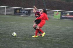 Match des U13F VGA Bohars contre Saint-Renan (27/01/2018) au Synthétique. - VGABohars Féminines
